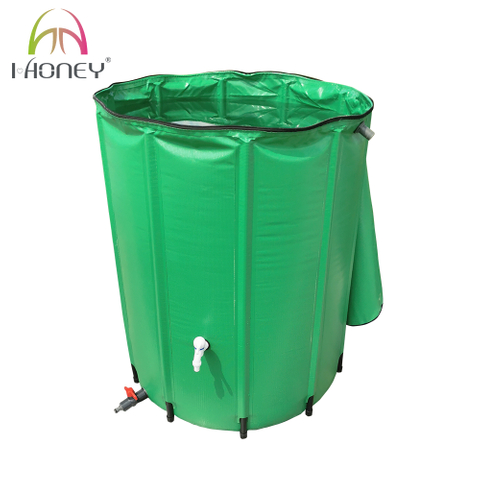 Foldable PVC Garden Rain Water Barrel